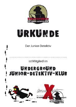 Underground Der Junior Detektiv Klub